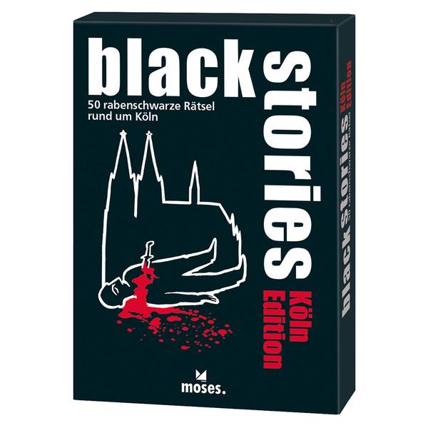 BLACK STORIES - KÖLN EDITION - Reisespiele