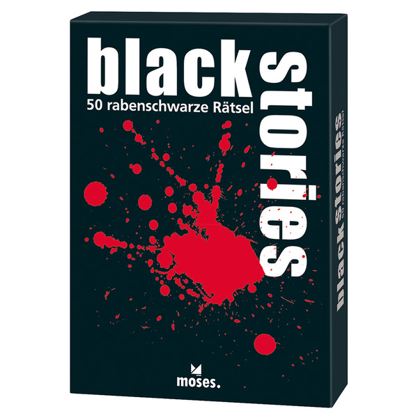 Moses Verlag BLACK STORIES Kinder - Reisespiele