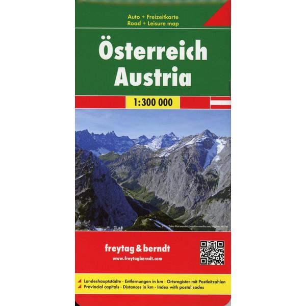 Österreich Westfalzung 1:300.000 - Wanderkarte