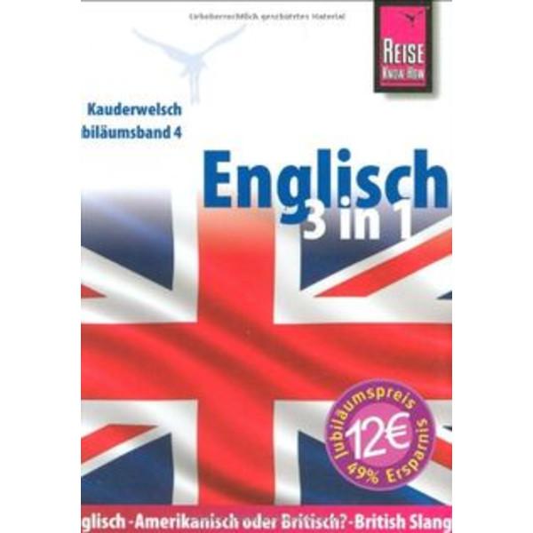 RKH KAUDERWELSCH ENGLISCH 3 IN 1 - Sprachführer