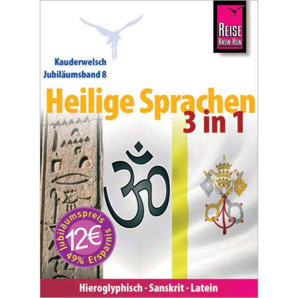 Reise Know-How Kauderwelsch Heilige Sprachen 3 in 1 - Sprachführer