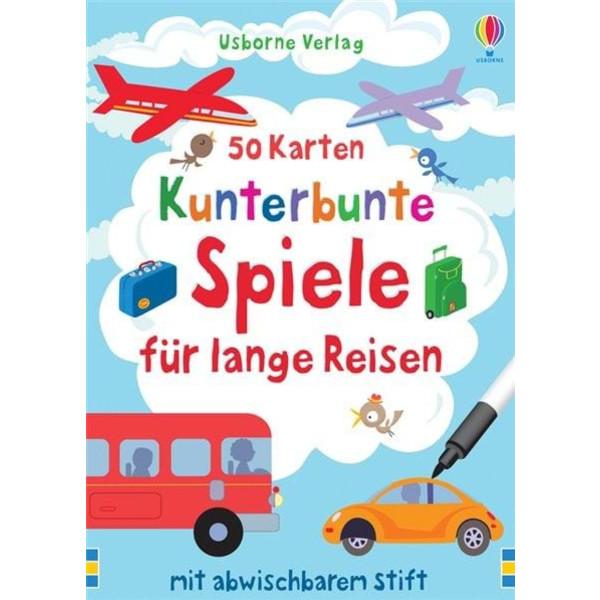 KUNTERBUNTE SPIELE FÜR LANGE REISEN - Reisespiele