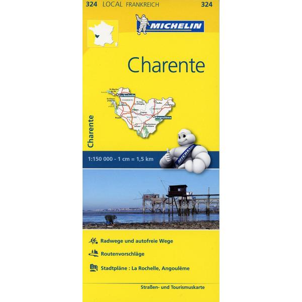 Michelin Charente 1 : 150 000
