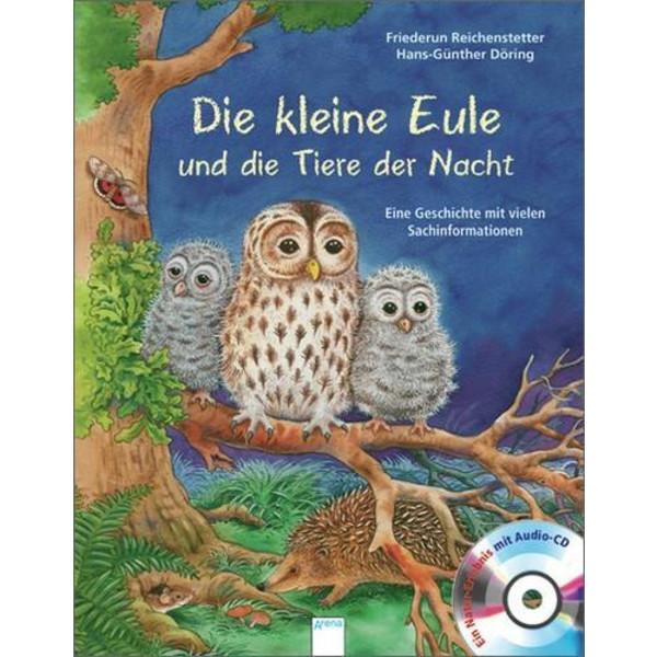 Die kleine Eule und die Tiere der Nacht - Kinderbuch