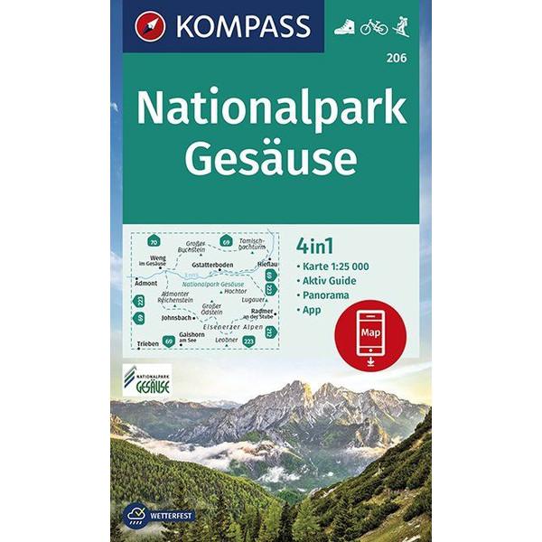 KOKA 206 NATIONALPARK GESÄUSE - Wanderkarte