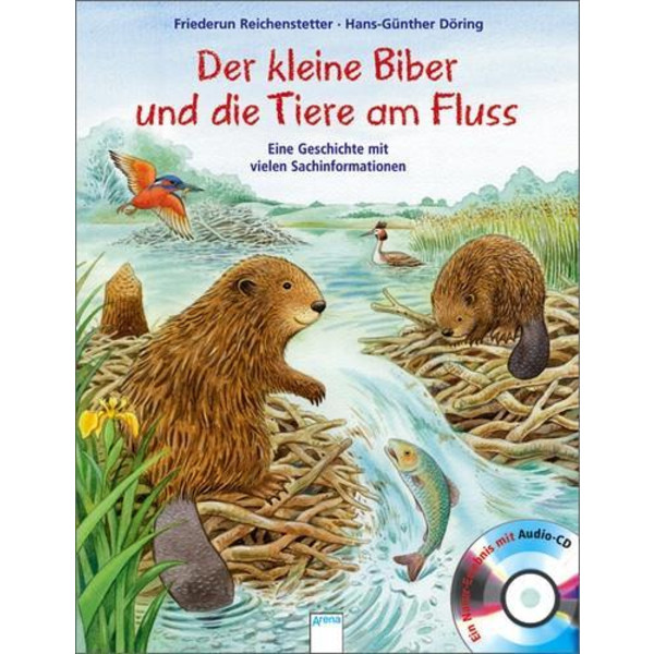 Der kleine Biber und die Tiere am Fluss - Kinderbuch