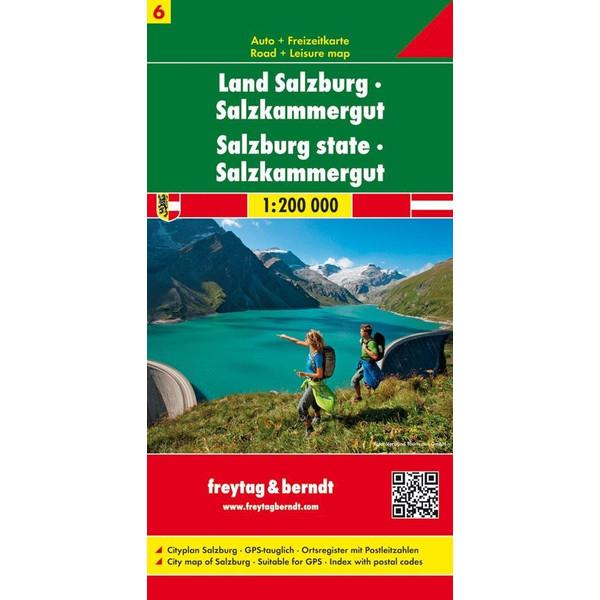 FuB Österreich 06 Land Salzburg - Salzkammergut 1 : 200 000 - Wanderkarte