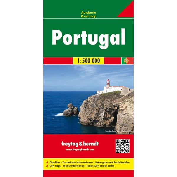 Portugal 1 : 500 000 - Straßenkarte