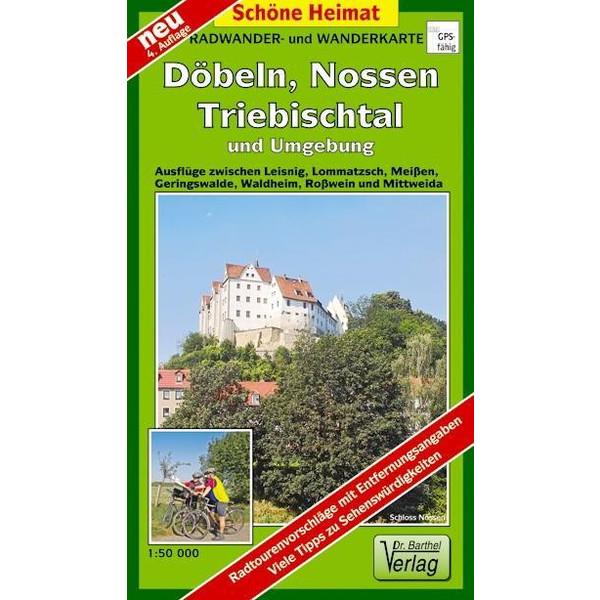 Döbeln, Nossen, Triebischtal und Umgebung 1 : 50 000. Radwander-und Wanderkarte