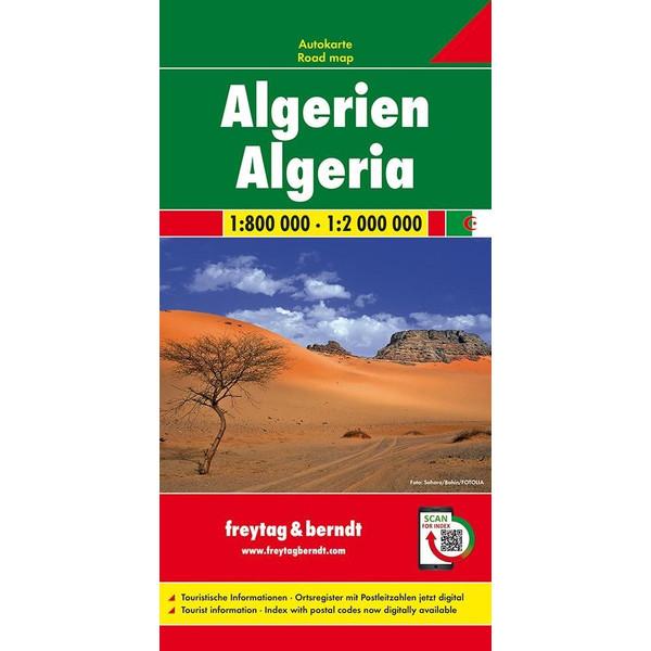Algerien 1 : 800 000 / 1 : 2 000 000 - Straßenkarte
