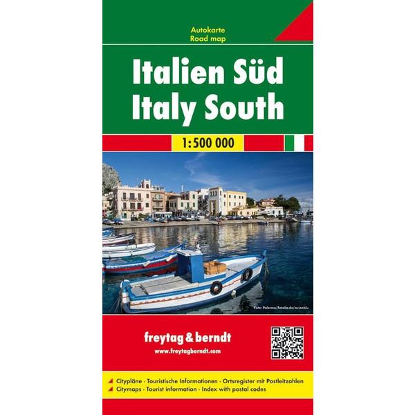 Italien Süd 1 : 500 000 - Straßenkarte
