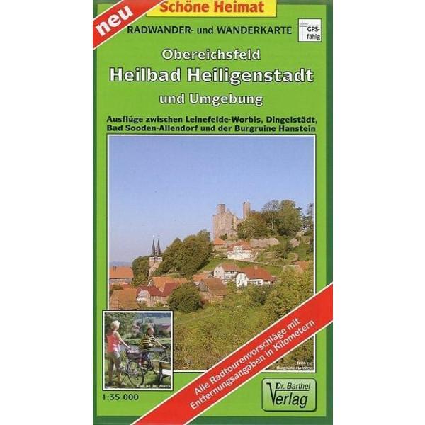Obereichsfeld, Heilbad Heiligenstadt und Umgebung 1 : 35 000. Radwander- und Wanderkarte - Wanderkarte