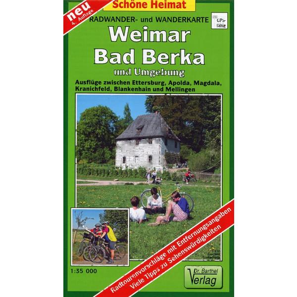 Weimar, Bad Berka und Umgebung 1 : 35 000. Radwander-und Wanderkarte - Wanderkarte