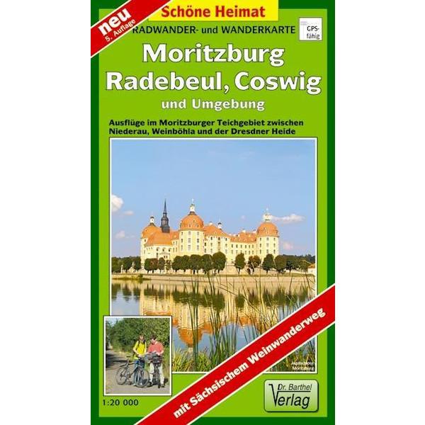 Moritzburg, Radebeul, Coswig und Umgebung 1 : 20 000. Radwander- und Wanderkarte - Wanderkarte
