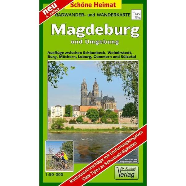 Magdeburg und Umgebung 1 : 50 000. Radwander-und Wanderkarte