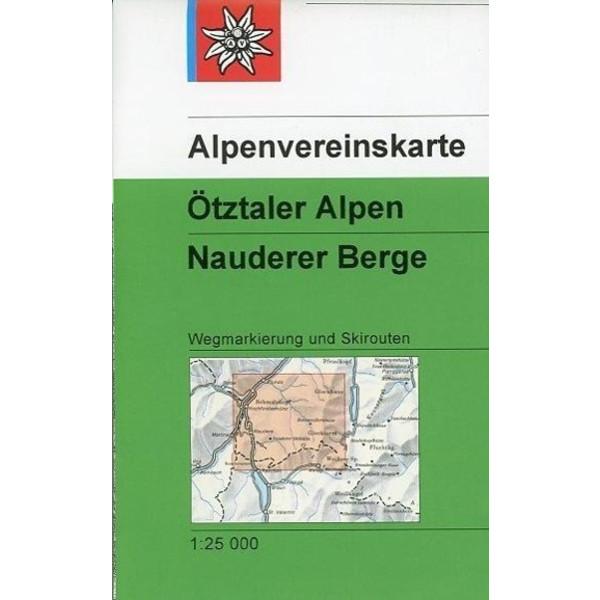 DAV Alpenvereinskarte 30/4 Ötztaler Alpen - Nauderer Berge 1 : 25 000 - Wanderkarte