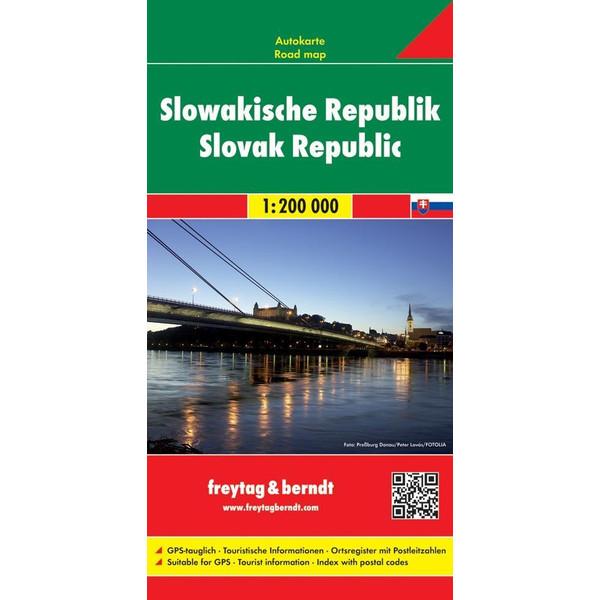 Slowakische Republik 1 : 200 000. Autokarte