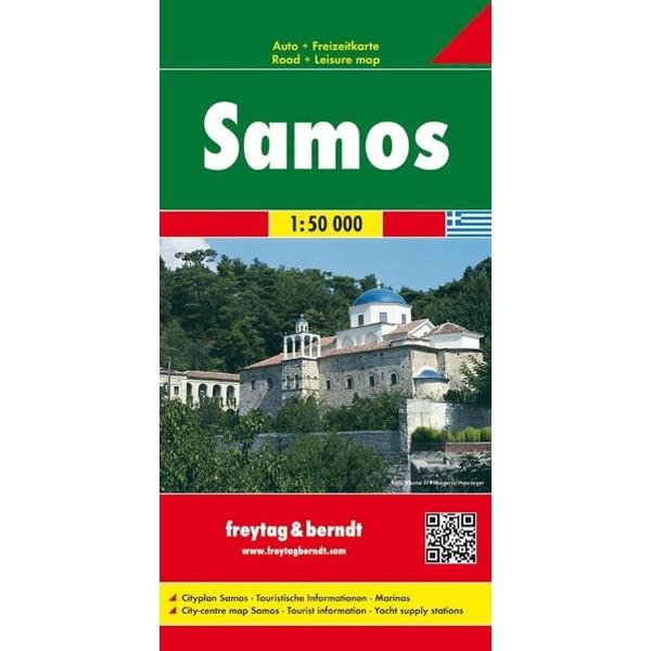 Samos 1 : 50 000 - Wanderkarte