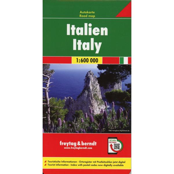 Italien 1 : 600 000 - Straßenkarte