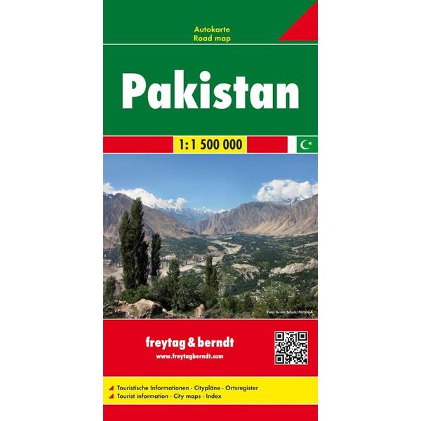 Pakistan, Autokarte 1:1.500.000 - Straßenkarte