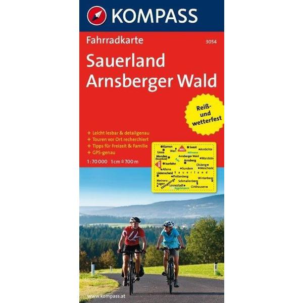 Sauerland - Arnsberger Wald 1 : 70 000 - Fahrradkarte
