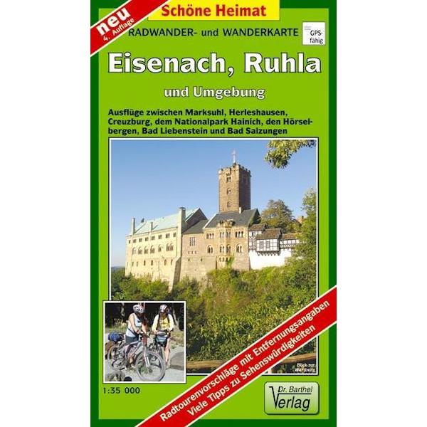Eisenach, Ruhla und Umgebung 1 : 35 000. Radwander-und Wanderkarte - Wanderkarte