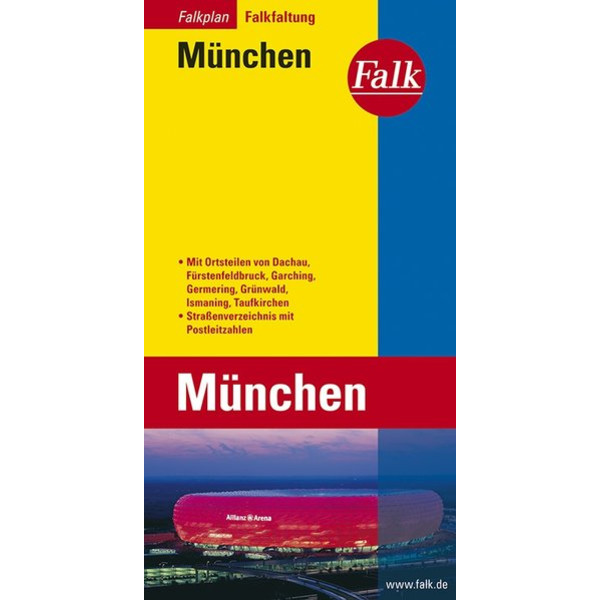 FALK STADTPLAN MÜNCHEN - Stadtplan