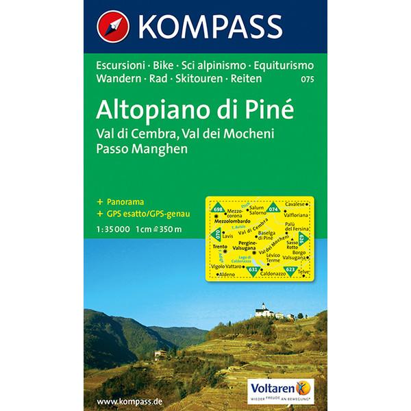 Altopiano di Piné 1 : 35 000 - Wanderkarte