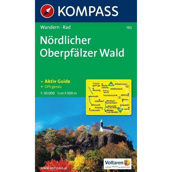 Nördlicher Oberpfälzer Wald 1 : 50 000 - Wanderkarte