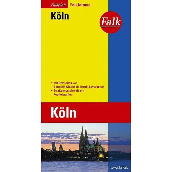 Falk Falkplan Falkfaltung Köln 1 : 23 000 - Straßenkarte