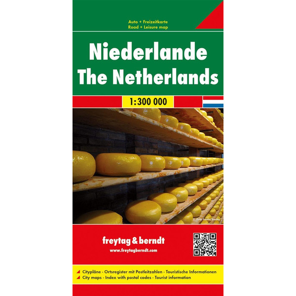 Niederlande 1 : 300 000 - Straßenkarte