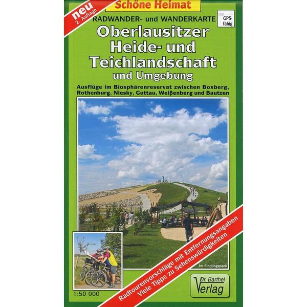 Radwander- und Wanderkarte Oberlausitzer Heide- und Teichlandschaft und Umgebung 1 : 50 000 - Wanderkarte