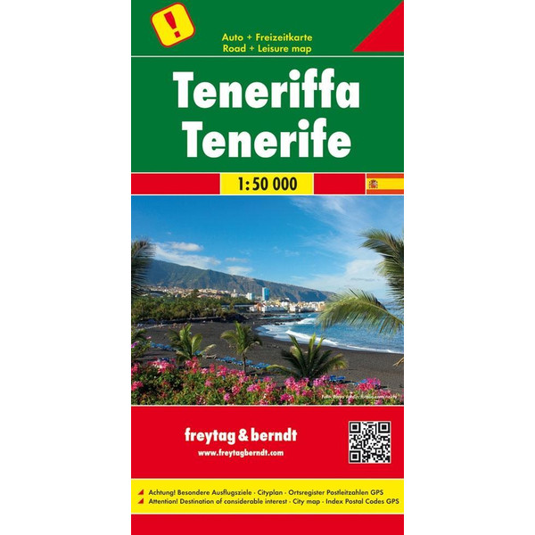 Teneriffa 1 : 50 000 - Wanderkarte