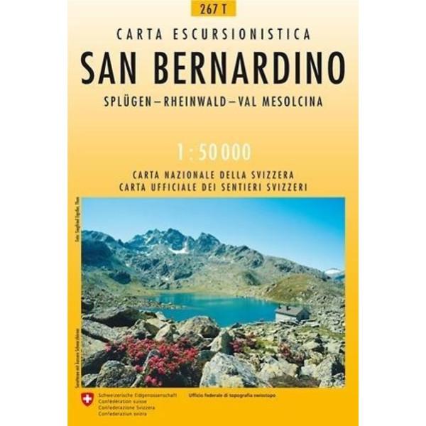 Swisstopo 1 : 50 000 San Bernardino - Wanderkarte