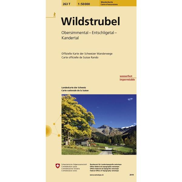 Swisstopo 1 : 50 000 Wildstrubel - Wanderkarte