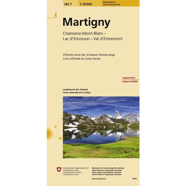 Swisstopo 1 : 50 000 Martigny - Wanderkarte