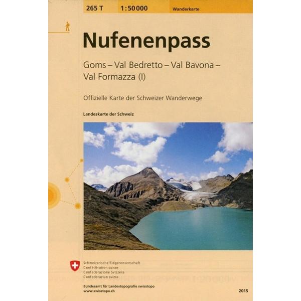 Swisstopo 1 : 50 000 Nufenenpass - Wanderkarte