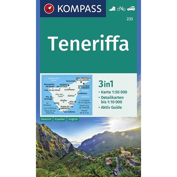 TENERIFFA 1:50 000 - Wanderkarte
