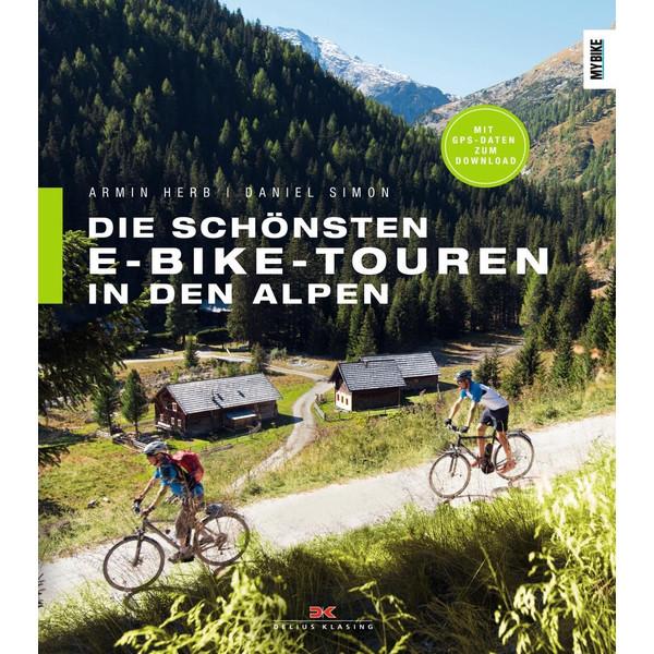 Die schönsten E-Bike-Touren in den Alpen - Radwanderführer