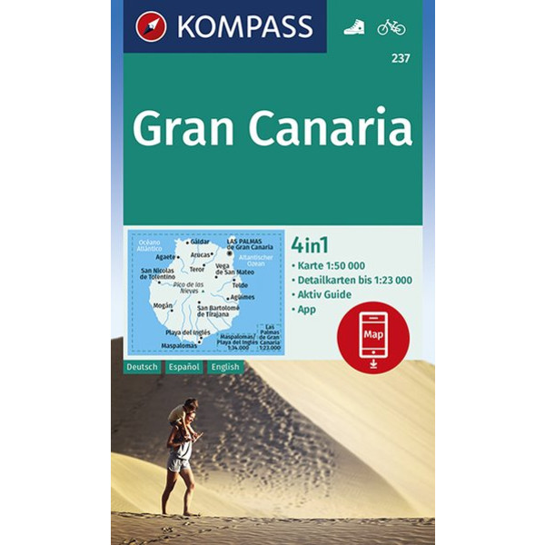 GRAN CANARIA 1:50 000 - Wanderkarte