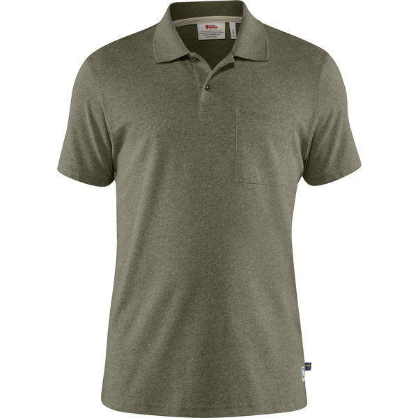 Fjällräven GREENLAND RE-COTTON POLO SHIRT M Männer - Polo-Shirt