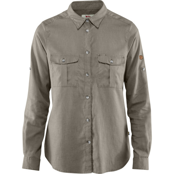 Fjällräven ÖVIK TRAVEL SHIRT LS W Frauen - Outdoor Bluse