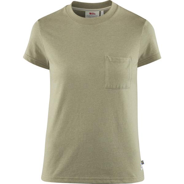 Fjällräven GREENLAND RE-COTTON T-SHIRT SS W Frauen - T-Shirt