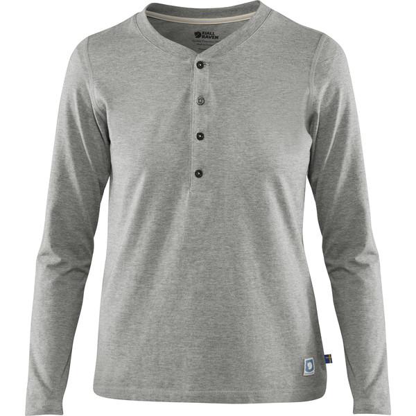 Fjällräven GREENLAND BUTTONED LS W Frauen - Langarmshirt