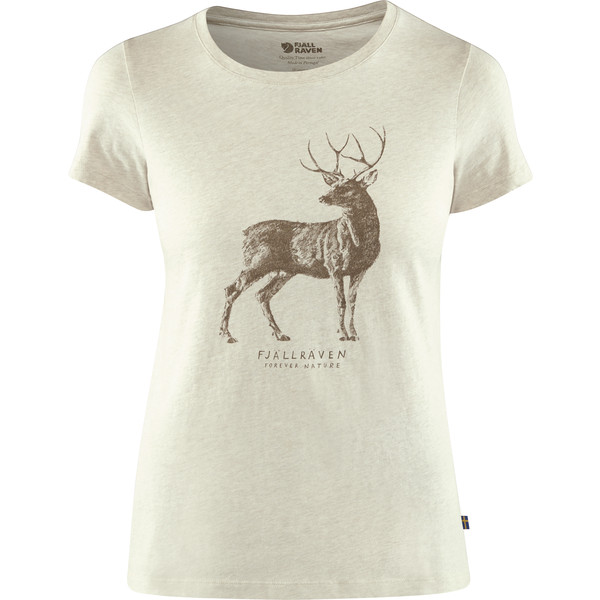 Fjällräven DEER PRINT T-SHIRT W Frauen - T-Shirt