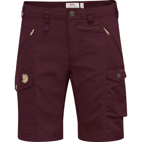 Fjällräven NIKKA SHORTS CURVED W Frauen - Shorts