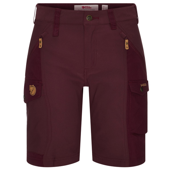 Fjällräven NIKKA SHORTS CURVED W Frauen - Shorts