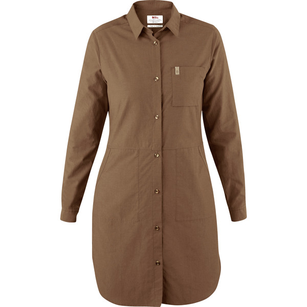 Fjällräven ÖVIK SHIRT DRESS W Frauen - Kleid