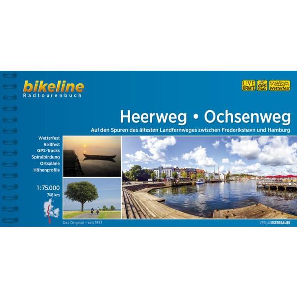 Heerweg Ochsenweg 1:75.000 - Radwanderführer
