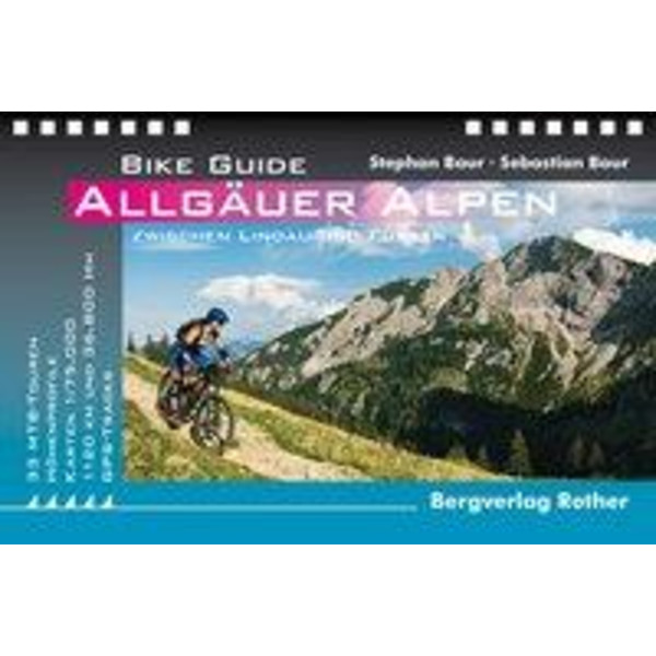 Bike Guide Allgäuer Alpen - Radwanderführer